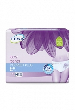 TENA Lady Pants Discreet Plus M 12 Stk
