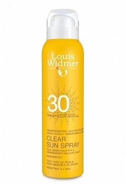 WIDMER CLEAR SUN 30 PARF Spr 125 ml