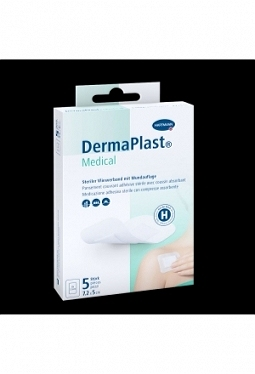 DERMAPLAST Medical Vliesverband 7.2x5c..