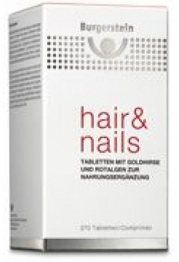 BURGERSTEIN Hair & Nails Tabl 270 Stk