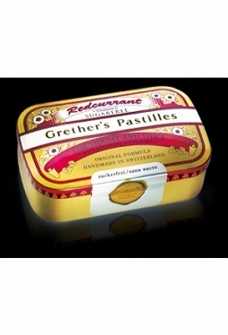 GRETHERS Redcurrant Past o Zuck Ds 110 g