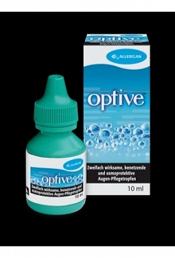 OPTIVE Gtt Opht benetzend u osmoprotekt 10 ml
