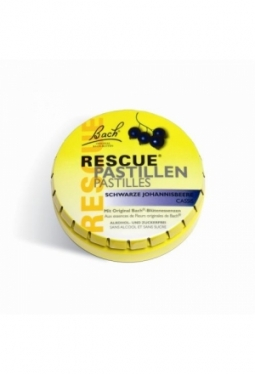 RESCUE Pastillen Blackcurrant 50 g