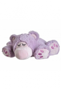 BEDDY BEAR Wärme Stofftier Sleepy Bear lila