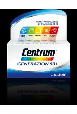 CENTRUM Generation 50+ Tabl mit Lutein..