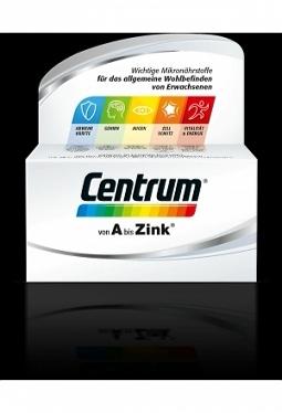 CENTRUM Tabl mit Lutein 30 Stk
