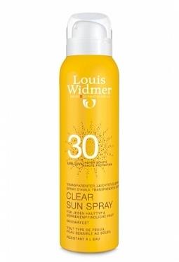 WIDMER CLEAR SUN 30 UNPARF Spr 125 ml