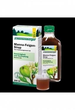 SCHOENENBERGER Manna Feigen Sirup 200 ml