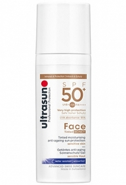 ULTRASUN Face Tinted SPF 50+ Honey 50 ml