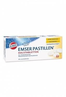 EMSER Pastillen zuckerfrei ohne Mentho..