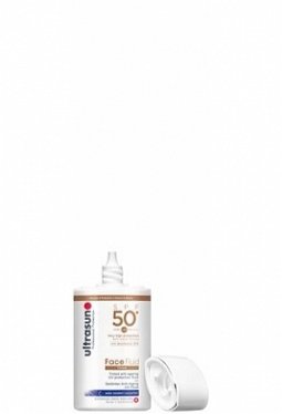 ULTRASUN Face Fluid SPF50+ Tinted HONE..