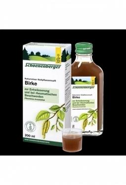 SCHOENENBERGER Birken Saft 200 ml