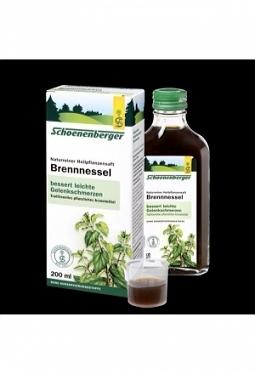 SCHOENENBERGER Brennessel Saft 200 ml
