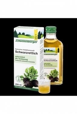 SCHOENENBERGER Schwarzrettich Saft 200..