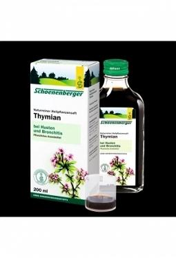 SCHOENENBERGER Thymian Saft 200 ml
