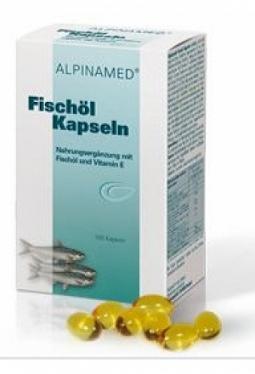 ALPINAMED Fischöl Kaps 100 Stk