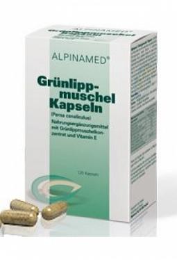 ALPINAMED Grünlippmuschel Kaps 400 mg ..