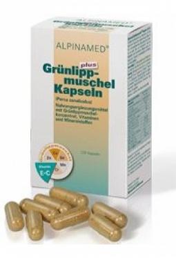 ALPINAMED Grünlippmuschel Plus Kaps 12..