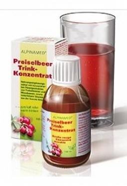 ALPINAMED Preiselbeer Trink-Konzentrat..