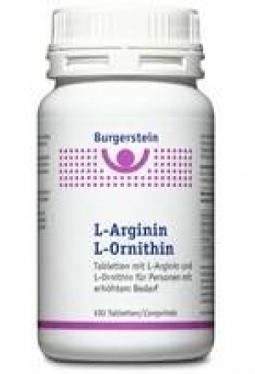 BURGERSTEIN L-Arginin/L-Ornithin Tabl ..