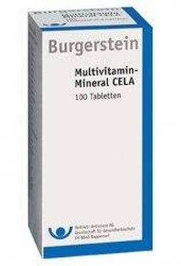 BURGERSTEIN CELA Multivitamin-Mineral ..