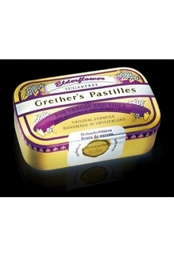GRETHERS Elderflower Past o Z Ds 110 g