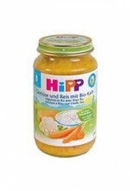 HIPP Gemüse u Reis m Kalbfleisch 8M Bi..