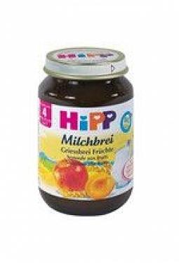 HIPP Milchbrei Griessbrei Früchte 190 g
