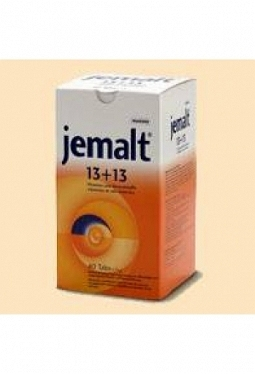 JEMALT 13+13 Tabs 40 x 7.5 g