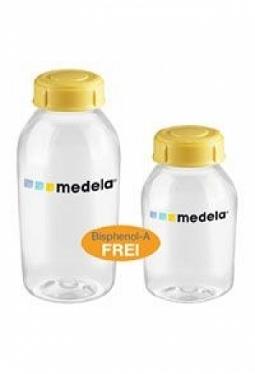 MEDELA Milchflasche 150ml inkl Deckel ..