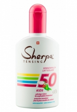 SHERPA TENSING Sonnenmilch SPF 50 Kids..