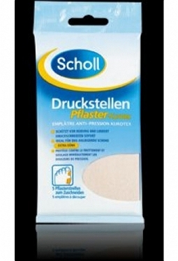 SCHOLL KUROTEX Druckstellenpflaster 75..